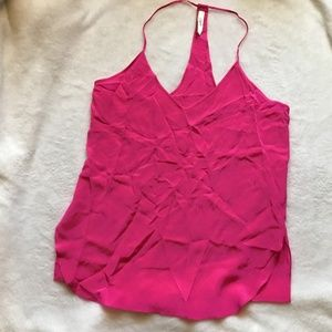 RORY BECA t-back 100% Silk Cami Blouse Top